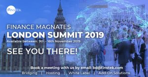 Finstek attending Finance Magnates London Summit